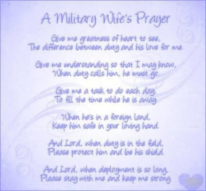 Military wife love quotes and sayings