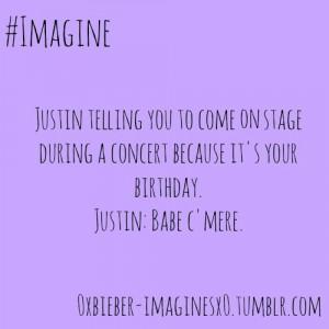 Justin Bieber Imagines Rated R