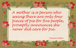 Quote - Mother's