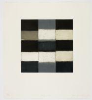 Sean Scully, Grey Robe, 2008, Aquatint, 55 x 50cm, Collection Irish ...