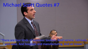 To the Office Michael Scott Toby Quotes
