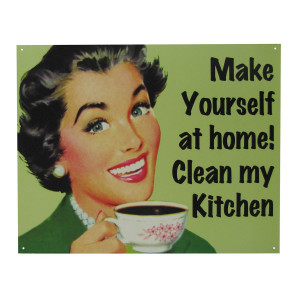 Humorous Quotes To Clean Kitchens Quotesgram