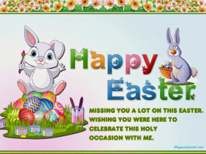 Cute Easter Sayings Easter bring a brad new love