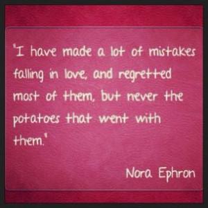 Nora Ephron quote