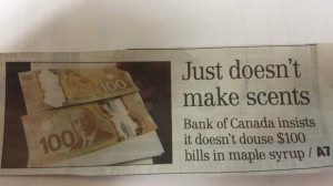 Things Are a Little Different in Canada