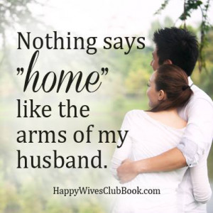 The Arms of My Husband