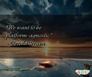 Agnostic Quotes