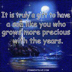 ... Son Facebook | Happy Birthday Son Graphics Code | Happy Birthday Son