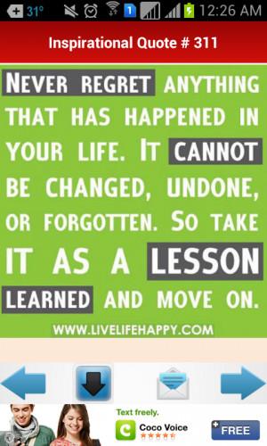 Positive Inspirational Quotes 1.0 screenshot 4