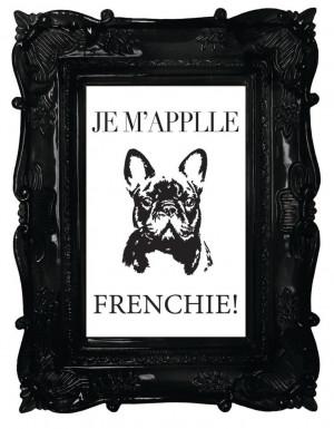 PRINTABLE Quote art // french bulldog by MyLittlestPrintShop, $5.00