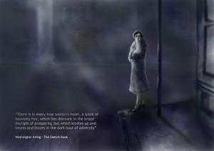 Washington Irving Quote Illustration