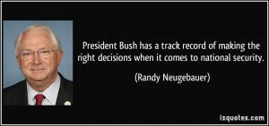 More Randy Neugebauer Quotes