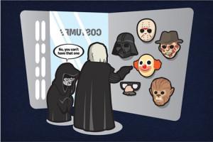 La máscara de Darth Vader