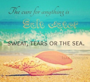 Sweat, years or the sea