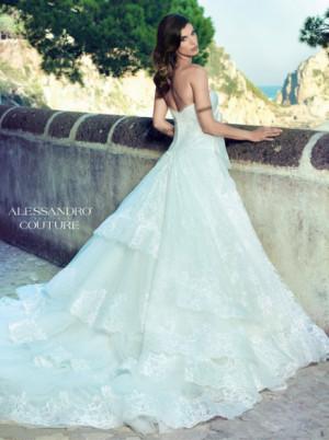 alessandro angelozzi couture abiti da sposa 2014 elisabetta canalis