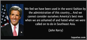 More John Kerry Quotes