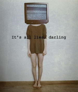 hipster, lies, quote, tv