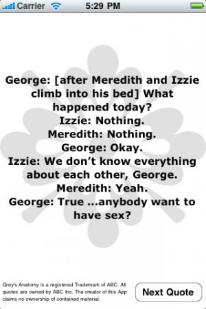 Related applications Grey's Anatomy Quotes
