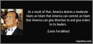More Louis Farrakhan Quotes