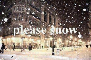 love snow...