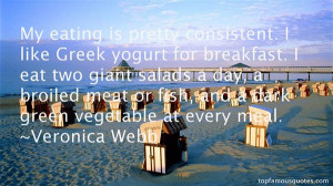 Greek Yogurt Quotes