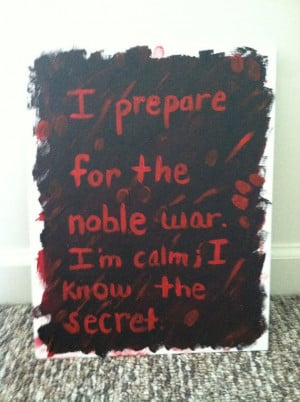 Prepare For War Quotes. QuotesGram  Tate Langdon Quotes I Prepare For The Noble War