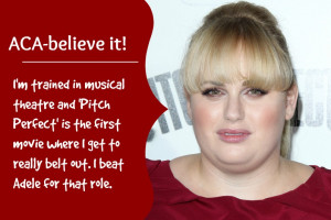 ... are some of the things we hope Rebel Wilson will bring to Perfect
