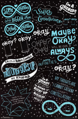 Fault in our Stars - Romance Poster