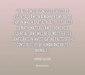 Edmund Husserl Quotes