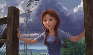 Dorothy Gale, voiced by Lea Michele (Image: Summertime Entertainment)
