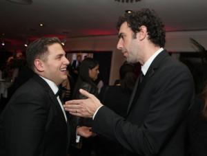 Sacha Baron Cohen and Jonah Hill