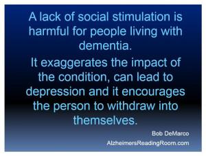 Quotes for Alzheimer's Caregivers | Alzheimer's Reading Room