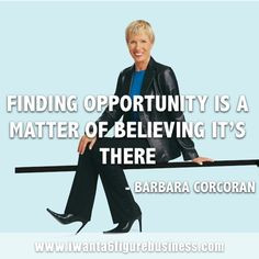 BARBARA CORCORAN QUOTE: