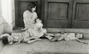 Starving Cuban Family, 1933