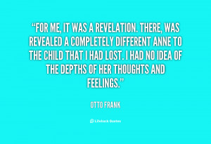 Otto Frank Quotes