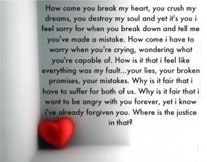 Love Poems Broken Heart