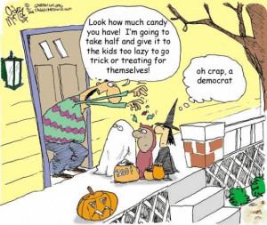 Question: At what point does trick or treating become more about adult ...