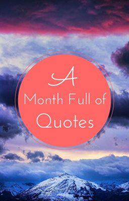 Month Full of Quotes ~ June 2015