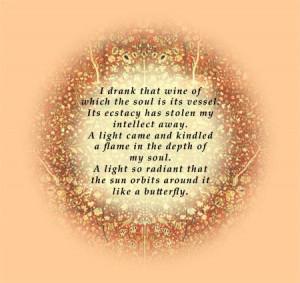 NPR's Speaking of Faith Rumi Site