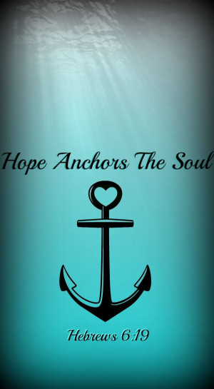 Anchor Christian Quotes Quotesgram