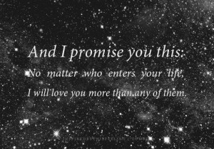 cute love quote: And i promise you this