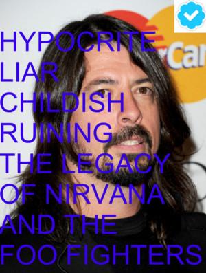 Dave Grohl Think Kurt...