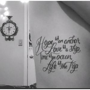 George Strait tattooQuote