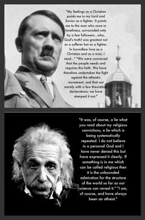 Image Sources: Atheist Republic and Atheist Memebase
