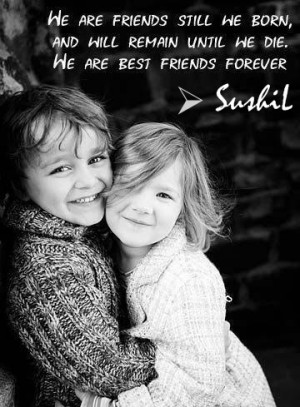 Best Quotes and Sayings: Best Friend Forever...!!