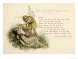 A Midsummer Night's Dream Act II, Scene 2: Summary and Analysis