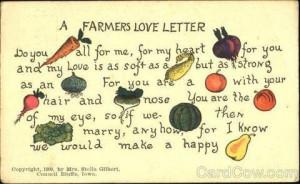 farmers love letter