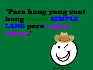 Papogi Tagalog love jokes