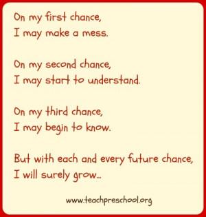 Preschool Quotes In preschool is to take no