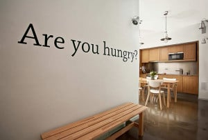 these splendid kitchen vinyl wall lettering and kitchen wall decals ...